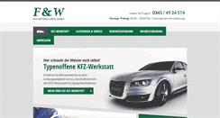 Preview of fuw-kfz-service.de